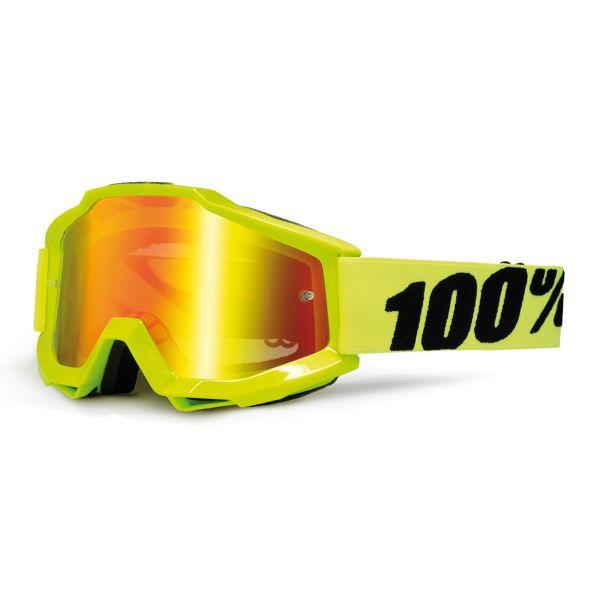 Masque Cross 100% Accuri Fluo Yellow
