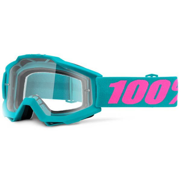 Masque Cross 100% Accuri Passion Clear Lens