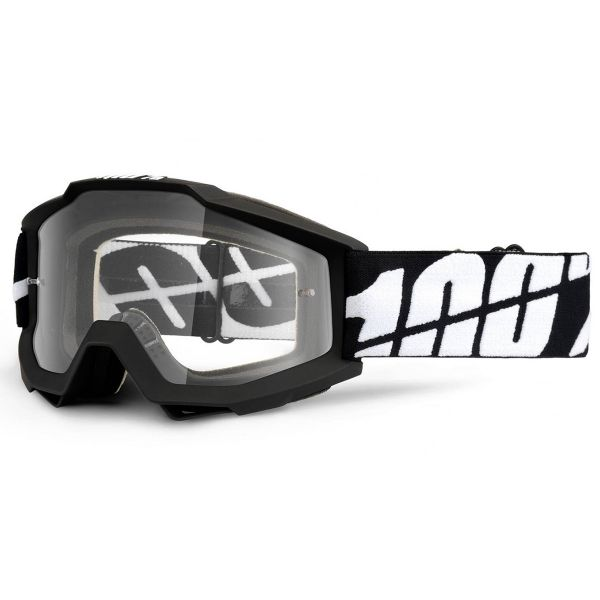 Masque Cross 100% Accuri Tornado Enduro Clear Dual Lens