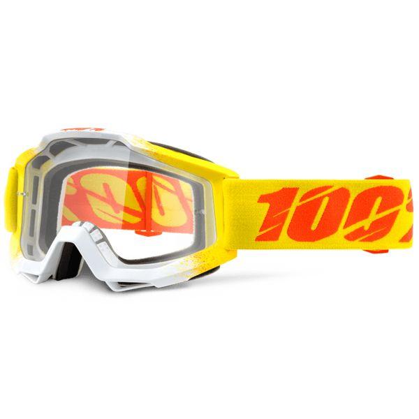 Masque Cross 100% Accuri Zest Clear Lens