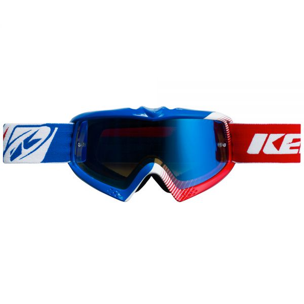Masque Cross Kenny Performance Blue White Red Kid
