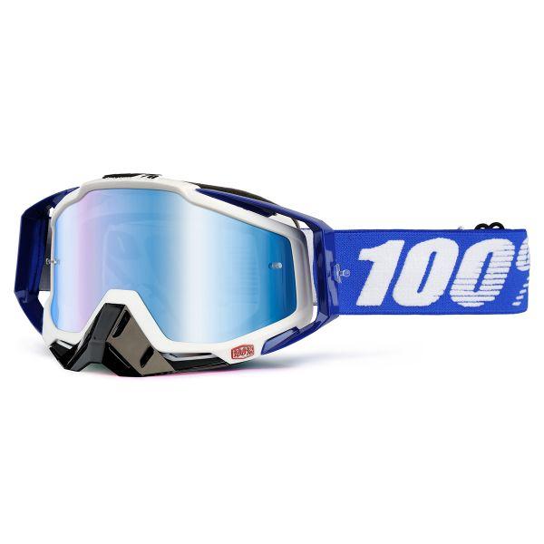 Masque Cross 100% Racecraft Colbat Blue