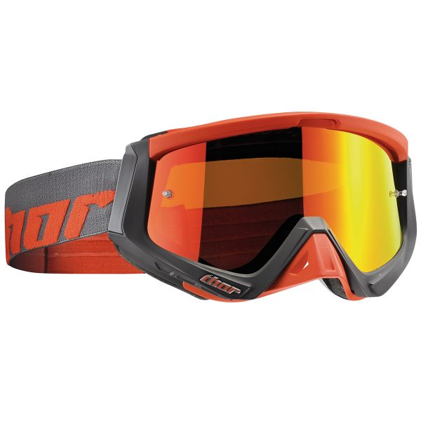 Masque Cross Thor Sniper Warship Charcoal Orange
