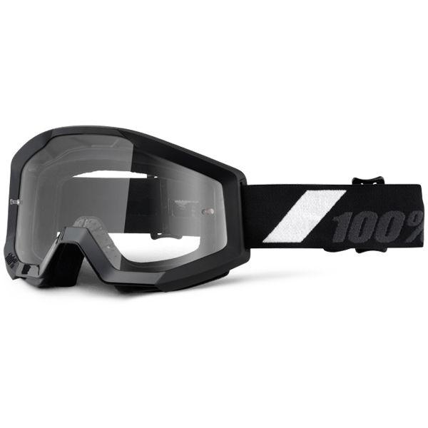 Masque Cross 100% Strata Goliath Clear Lens