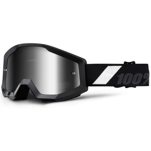 Masque Cross 100% Strata Goliath Mirror Silver Lens