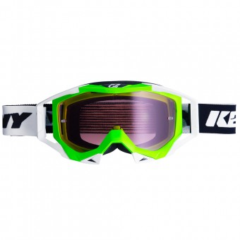 Masque Cross Kenny Titanium Neon Green