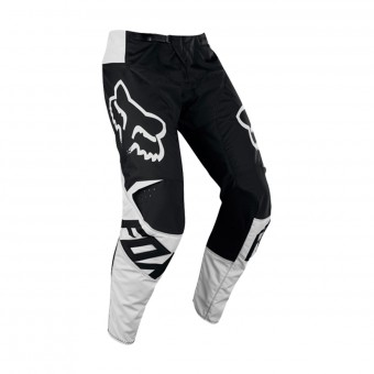 Pantalon Cross FOX 180 Race Black White Pant 001