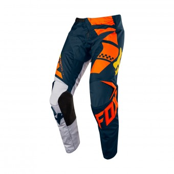 Pantalon Cross FOX 180 Sayak Orange Pant 008