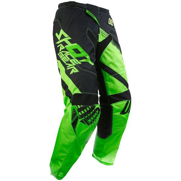 Pantalon Cross SHOT Contact Claw Neon Green Pant