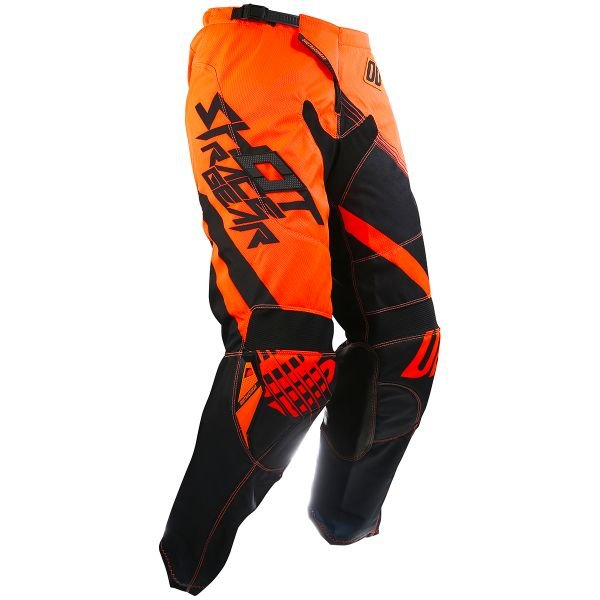 Pantalon Cross SHOT Contact Claw Neon Orange Pant