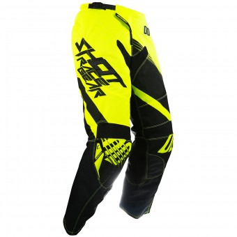 Pantalon Cross SHOT Contact Claw Neon Yellow Pant