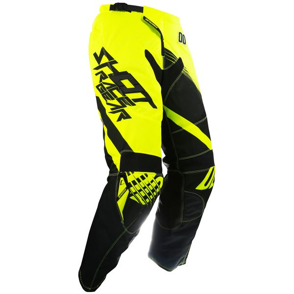 Pantalon Cross SHOT Contact Claw Neon Yellow Pant