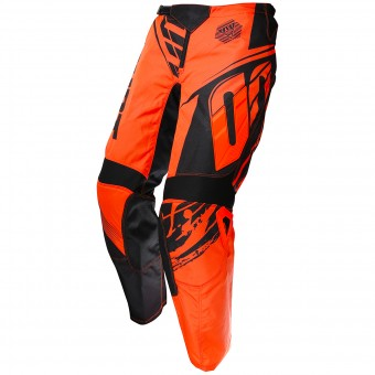 Pantalon Cross SHOT Devo Fast Neon Orange Pant Enfant