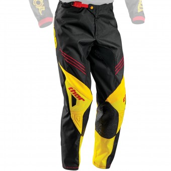 Pantalon Cross Thor Phase Hyperion Black Yellow Pant