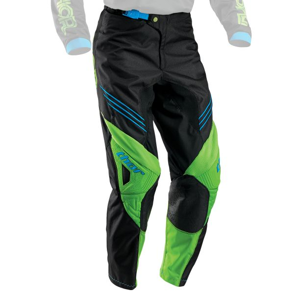 Pantalon Cross Thor Phase Hyperion Green Pant Enfant