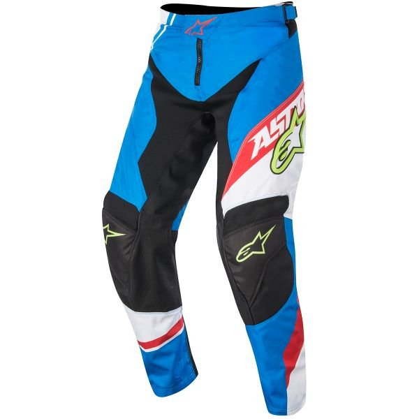 Pantalon Cross Alpinestars Racer Supermatic Blue Red Pant Enfant