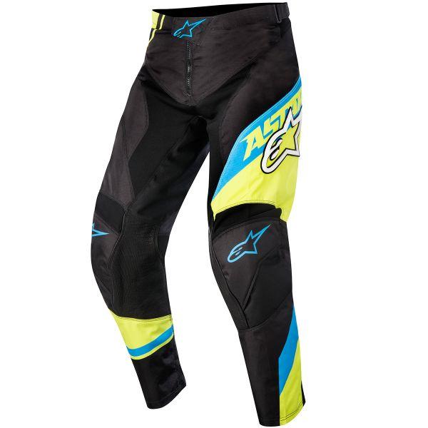 Pantalon Cross Alpinestars Racer Supermatic Blue Yellow Pant Enfant