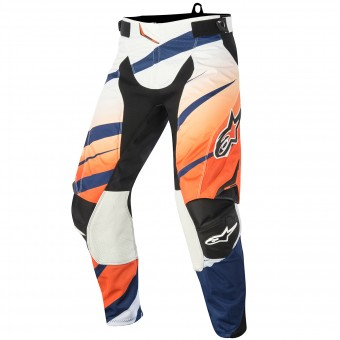 Pantalon Cross Alpinestars Techstar Venom Orange Navy Pant
