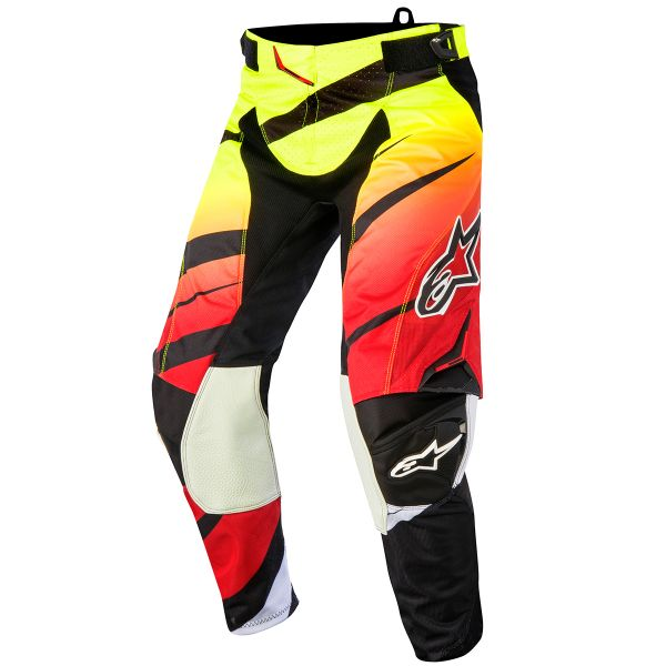 Pantalon Cross Alpinestars Techstar Venom Red Yellow Fluo Pant