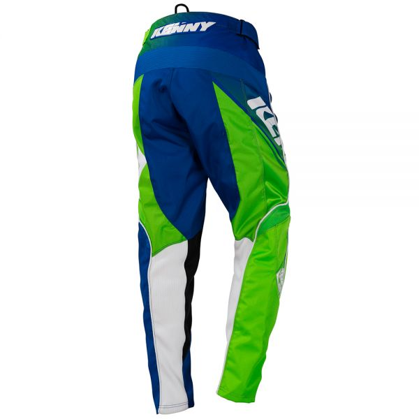 Kenny Track Neon Green Blue Pant