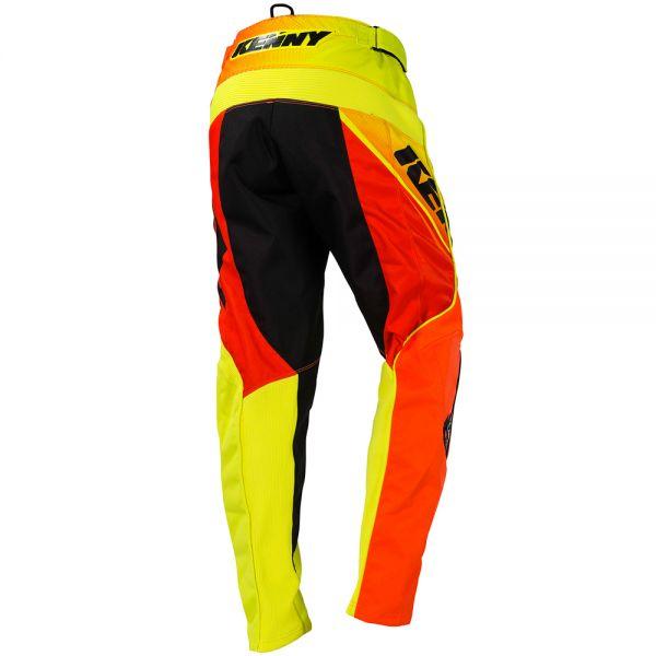 Kenny Track Neon Orange Yellow Pant