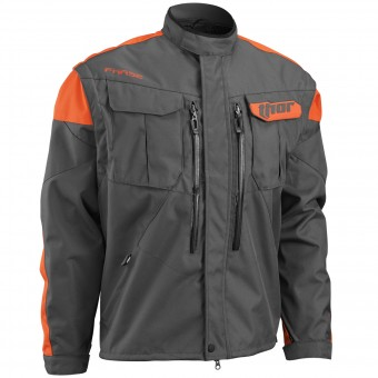 Veste Cross Thor Phase Jacket Charcoal Orange