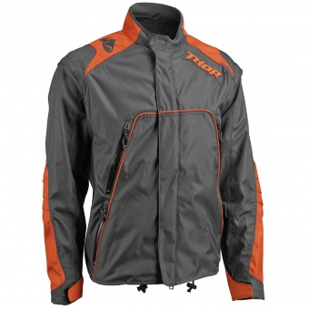 Veste Cross Thor Range Jacket Charcoal Orange