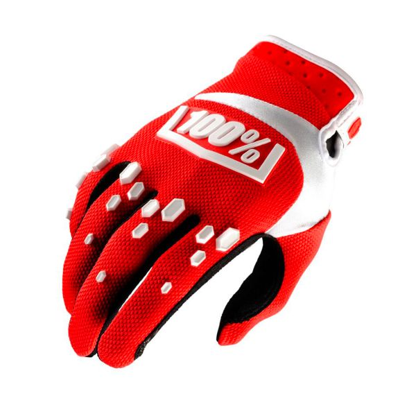 Gants Cross 100% Airmatic Red White