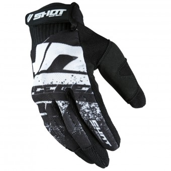 Gants Cross SHOT Drift Black CE