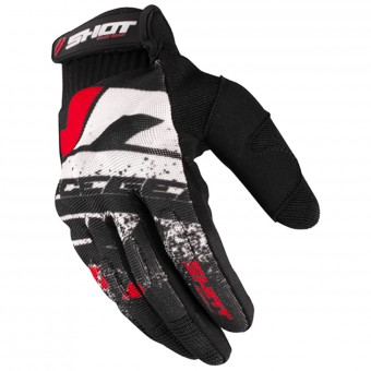 Gants Cross SHOT Drift Red CE