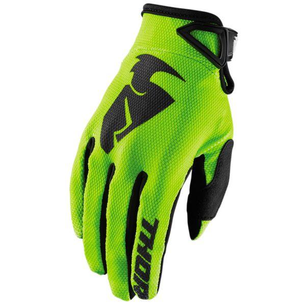 Gants Cross Thor Sector Glove Lime Enfant