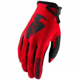 Gants Cross Thor Sector Glove Red Enfant