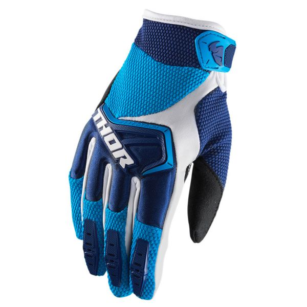 Gants Cross Thor Spectrum Navy Blue White