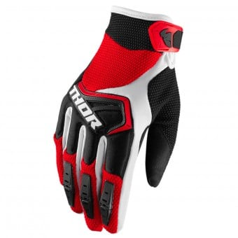 Gants Cross Thor Spectrum Red Black White