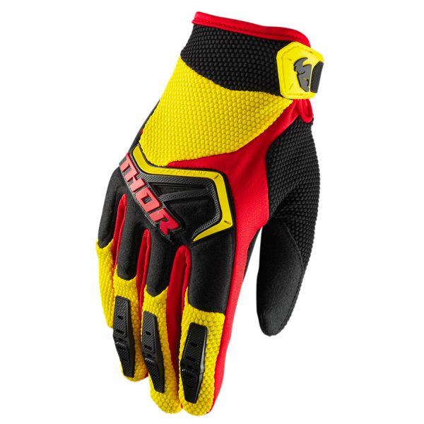 Gants Cross Thor Spectrum Yellow Black Red