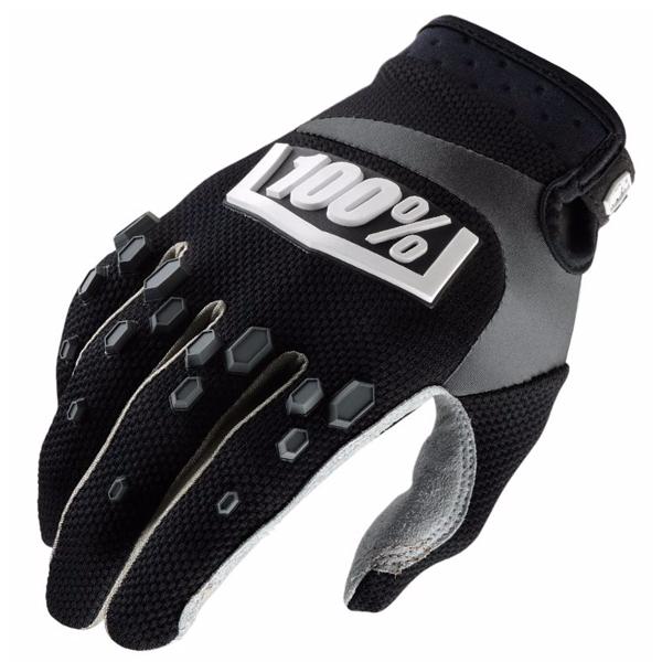 Gants Cross 100% Airmatic Black