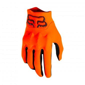 Gants Cross FOX Bomber Light Noir Orange