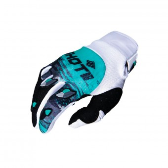 Gants Cross SHOT Contact Counter Blanc Vert CE