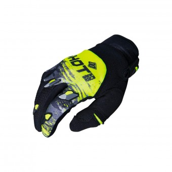 Gants Cross SHOT Contact Counter Gris Neon Jaune CE