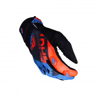 Gants Cross SHOT Devo Ultimate Bleu Neon Orange CE Enfant