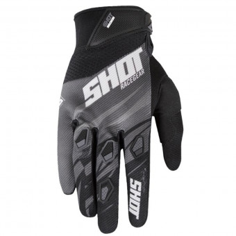 Gants Cross SHOT Devo Ventury Black Dark Grey CE
