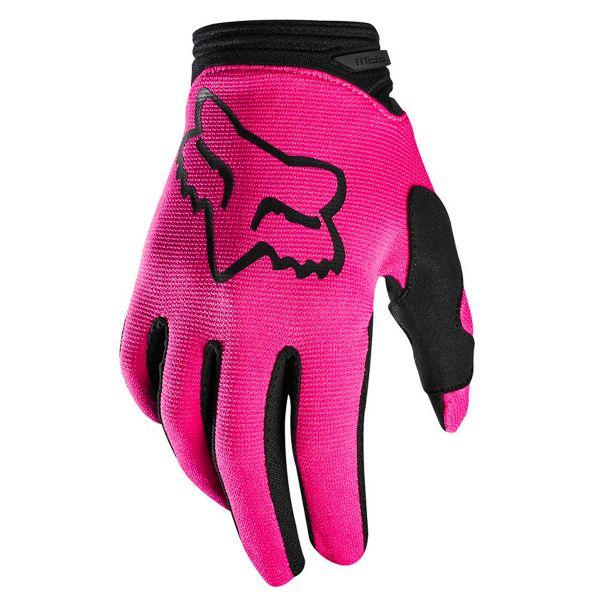 Gants Cross FOX Dirtpaw Girls Pink