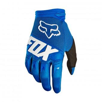 Gants Cross FOX Dirtpaw Race Bleu Enfant