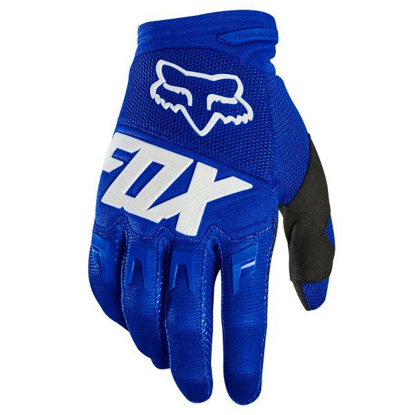 Gants Cross FOX Dirtpaw Race Blue (025)
