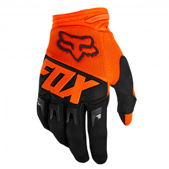 Gants Cross FOX Dirtpaw Race Fluo Orange Enfant