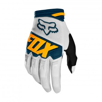 Gants Cross FOX Dirtpaw Race Gris Jaune (097)