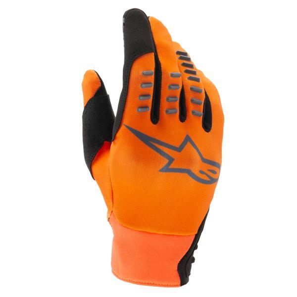 Gants Cross Alpinestars SMX-E Orange Anthracite