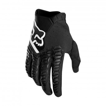 Gants Cross FOX Pawtector Noir Blanc