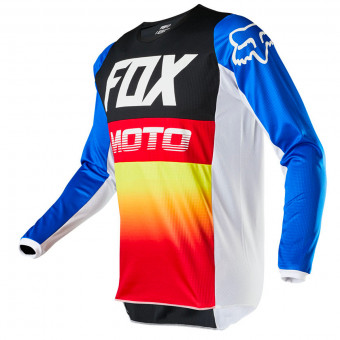 Maillot Cross FOX 180 Fyce Blue Red Enfant