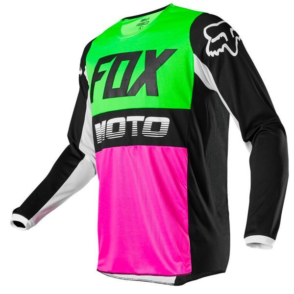 Maillot Cross FOX 180 Fyce Multi Enfant